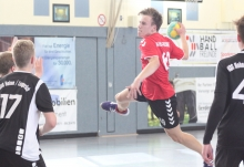 Spielten eine bärenstarke Partie: Lukas Unrau und die Handballfreunde. (Foto: Heidrun Riese)
