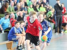 Viermal für die Handballfreunde erfolgreich: Robin Holz. (Foto: Heidrun Riese)