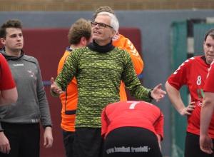Zufrieden: HF-Coach Martin Halfmann. (Foto: Heidrun Riese)