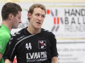 Enttäuscht: Marcel Peters, Trainer der A-Jugend der Handballfreunde. (Foto: Heidrun Riese)