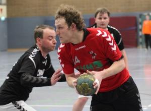 Marcel Peters und die Handballfreunde kehrten mit einem Sieg im Gepäck vom Auswärtsspiel in Drensteinfurt zurück. (Foto: Heidrun Riese)