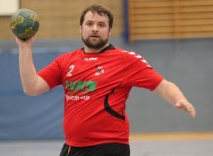 Gelingt Christoph Wallroth und den Handballfreunden erneut die Überraschung? Das Spitzenspiel am Sonntagmittag wird es zeigen. (Foto: Heidrun Riese)