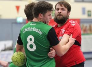 Christoph Wallroth trifft mit den Handballfreunden auf die SG Sendenhorst 2. (Foto: Heidrun Riese)