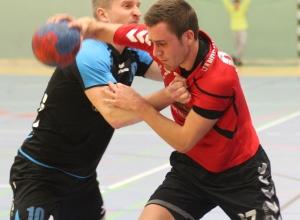 Marc Beering fordert mit seinen Teamkollegen den spielstarken BSV Roxel heraus. (Foto: Heidrun Riese)