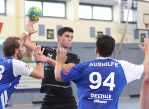 Traf viermal für die Handballfreunde: Lucas Knollmann. (Foto: Heidrun Riese)
