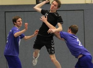 Heiko Meier und seine Mitspieler konnten ihre Dynamik zu selten ausspielen und unterlagen einem routinierten Gegner aus Recke. (Foto: Heidrun Riese)