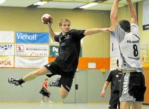 Trägt wieder das Trikot der Handballfreunde: Tobias Wiening. (Foto: Heidrun Riese)
