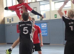 Leon Hinz will mit seinen Mitspielern die Tabellenführung im Spitzenspiel festigen. (Foto: Heidrun Riese)