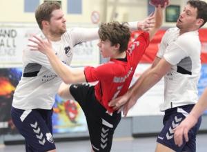 Die Handballfreunde gehen nach dem Unentschieden gegen den SC Hörstel selbstbewusst in die nächste Partie. (Foto: Heidrun Riese)