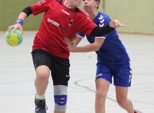 Jarno Bürgin war zweimal erfolgreich, glänzte aber auch und vor allem als Verhinderer gegnerischer Torchancen. (Foto: Heidrun Riese)