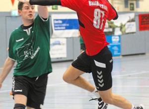Paul Haje erzielte sieben Tore für die A-Jugend beim Sieg gegen die HSG Ascheberg/Drensteinfurt. Foto: hri