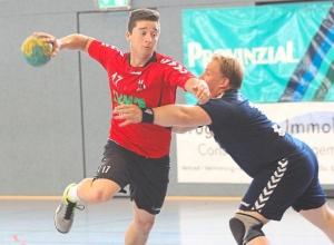 Maik Ruck erzielte drei Tore bei der knappen Niederlage der Handballfreunde. (Foto: Heidrun Riese)