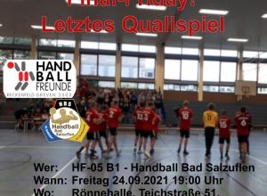 Die Verbandsliga ist zum Greifen nahe - die Handballfreunde wollen in eigener Halle die Qualifikation schaffen. (Foto: Handballfreunde)
