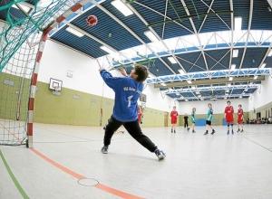 Erfolgreich und mit Spielfreude war die E-Jugend der Handballfreunde in eigener Halle am Start.