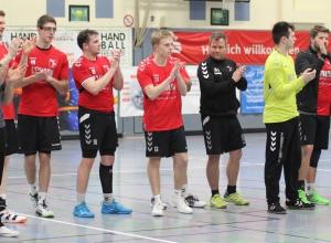 Gegen den Favoriten aus Hörstel schafften die Handballfreunde ein Remis. Der eine Punkt war am Ende sogar zu wenig. (Foto: Heidrun Riese)