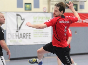 Dimitri Barwich setzte sich mit den Handballfreunden in einer umkämpften Partie letztendlich verdient durch. (Foto: Heidrun Riese)