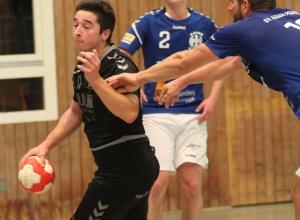 Maik Ruck kassierte mit den Handballfreunden eine derbe Pleite in Münster. (Foto: Heidrun Riese)