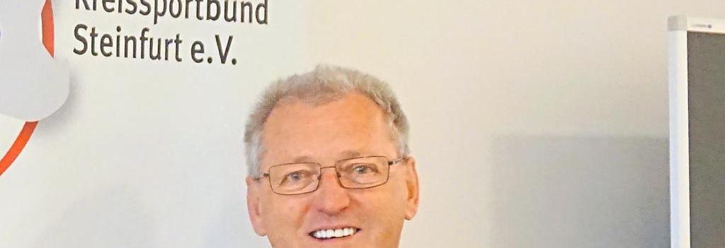 Kennt sich in der Vereinslandschaft des Kreises Steinfurt so gut wie kaum ein anderer aus: KSB-Vorstand Uli Fischer. Foto: KSB Steinfurt