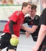 Paul Haje und seine Handballfreunde treffen auf Münster 08. (Foto: Heidrun Riese)