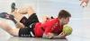 Die Handballfreunde (hier Mateusz Gucz) am Boden? Nicht am vergangenen Wochenende! Die 05er dominierten ihren Gegner nach Belieben. (Foto: Heidrun Riese)
