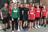 Nach ihrem letzten Saisonspiel stellte sich die B-Jugend der Handballfreunde noch einmal gemeinsam fürs Foto auf. Trainer und Spieler wechseln nun in ihre neuen Teams. (Foto: Handballfreunde)