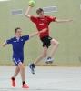 Max Opitz fuhr mit den Handballfreunden einen ungefährdeten Sieg ein. (Foto: Heidrun Riese)