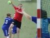 Juri Wermers war am Samstag Torgarant bei den Handballfreunden. (Foto: Heidrun Riese)