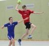 Maximilian Opitz holte mit den Handballfreunden nach gutem Spiel einen unerwarteten Punkt. (Foto: Heidrun Riese)