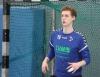 Mehr als zufrieden konnte Trainer Till Schwenken, selbst gelernter Torwart, mit der Leistung seines Keepers sein. (Foto: Heidrun Riese)