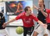 Marcel Peters kann es nicht fassen. Lange Zeit führten die Handballfreunde gegen den TV Kattenvenne, doch am Ende kassierten die Herren noch eine Niederlage. (Foto: Heidrun Riese)